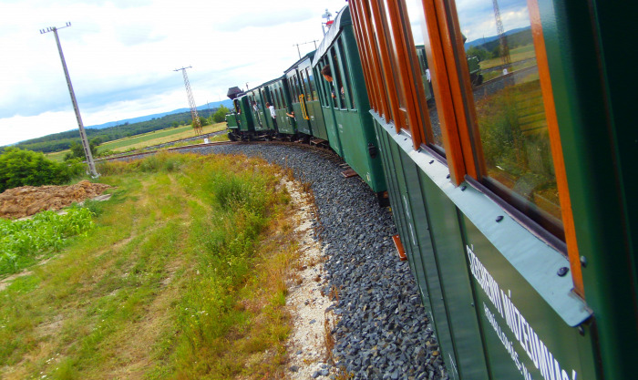 Magyarország Győr-Moson-Sopron megye Nagycenk vonat kisvasút vasút