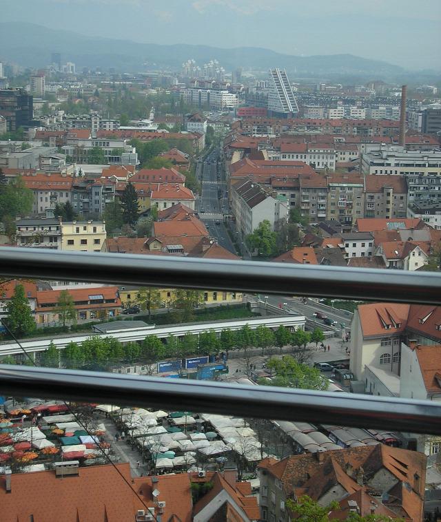 Szlovénia Ljubljana sikló