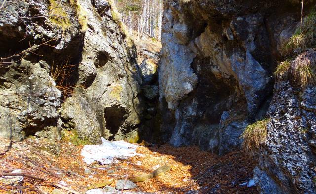 Ausztria Alsó-Ausztria szurdok Schneeberg hegy Weichtalklamm