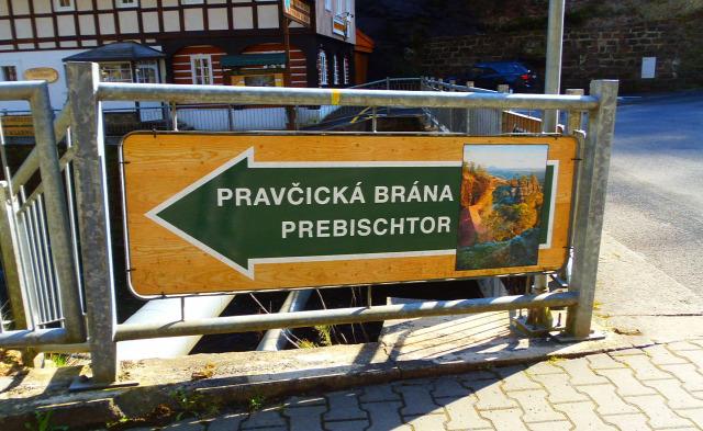 Csehország túraút Cseh-Svájc Hrensko