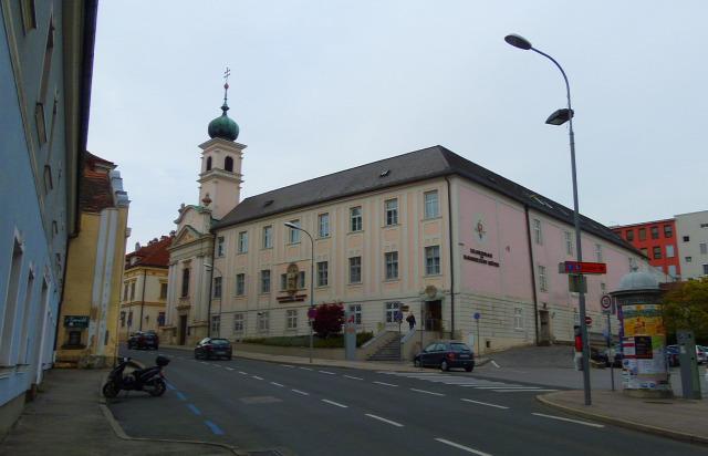 Ausztria Burgenland Eisenstadt város Esterházy