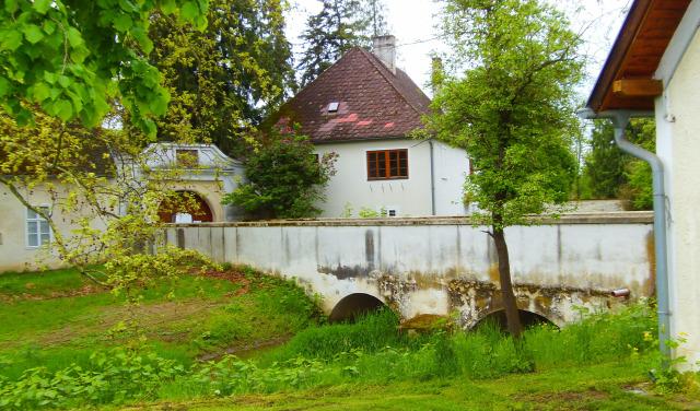 Ausztria Burgenland Esterházy kastély várak Lackenbach