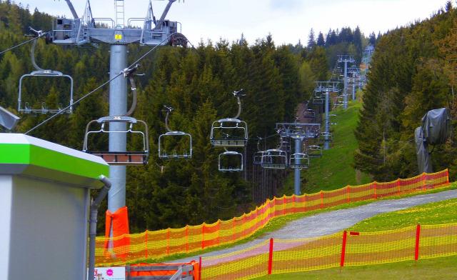 Ausztria Alsó-Ausztria Mönichkirchen libegő hegy