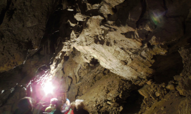Ausztria Alsó-Ausztria Kirchberg Hermannshöhle barlang cseppkőbarlang