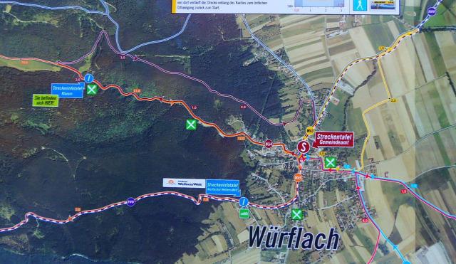 Ausztria Alsó-Ausztria szurdok Würflach Johannesbachklamm
