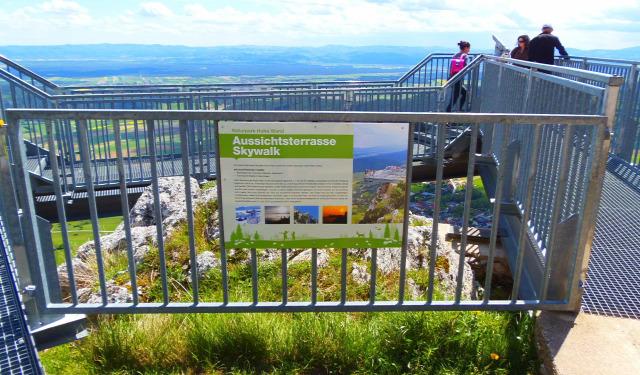 Ausztria Alsó-Ausztria hegy Hohe Wand túraút