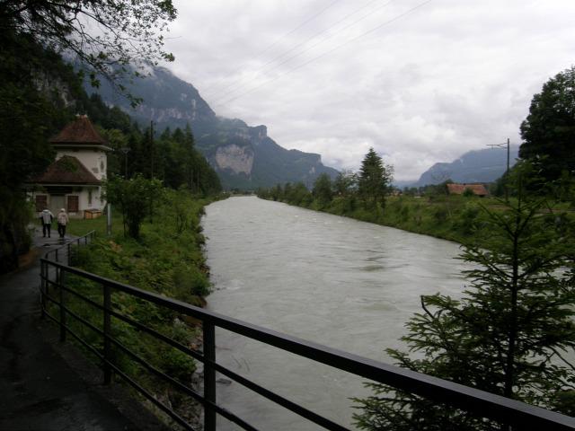 Svájc szurdok Aareschlucht