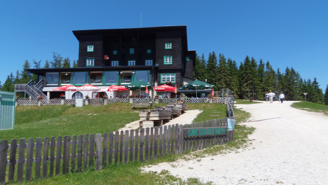 Ausztria Mariazell hegy nagy-kabinos felvonó
