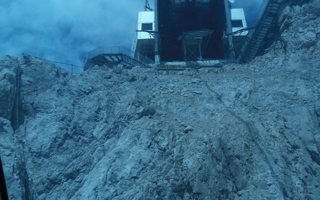 Ausztria Stájerország Schladming Ramsau nagy-kabinos felvonó hegy Dachstein