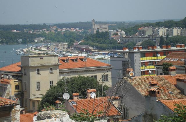 Horvátország Isztria város Pula