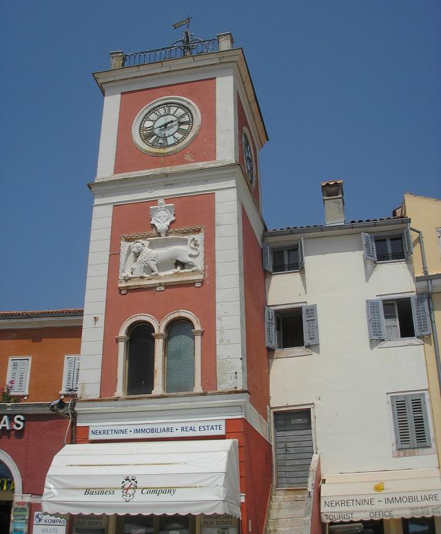Horvátország Isztria város Rovinj