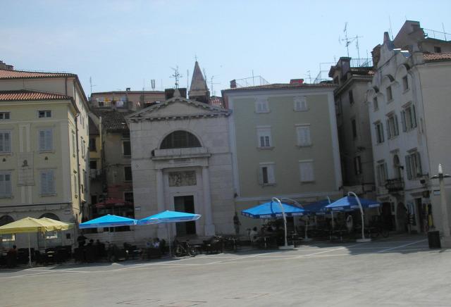 Szlovénia Piran város Isztria
