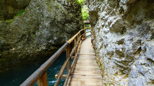 Szlovénia Bled Bledi tó szurdok Vintgar szurdok