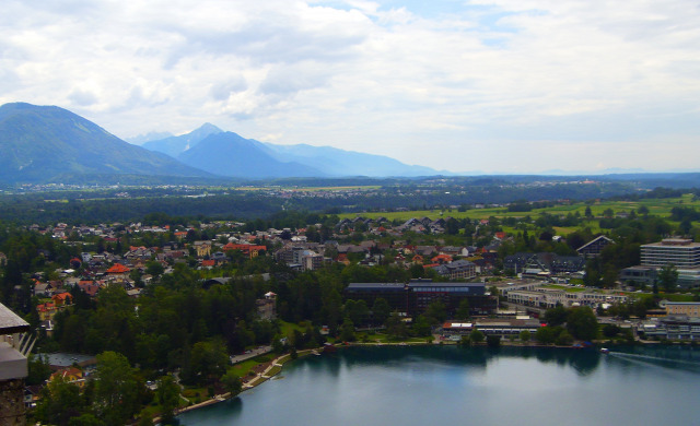 Szlovénia Bled Bledi-tó város