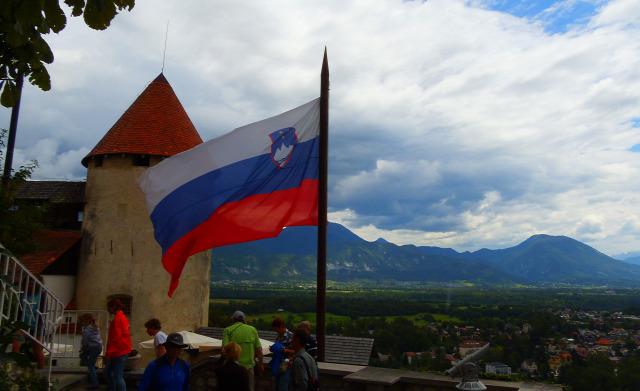 Szlovénia Bled Bledi tó várak
