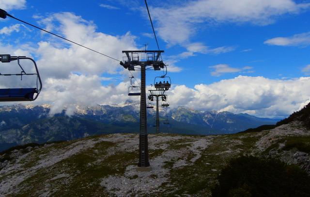 Szlovénia Vogel libegő Bohinj Bohinji tó hegy
