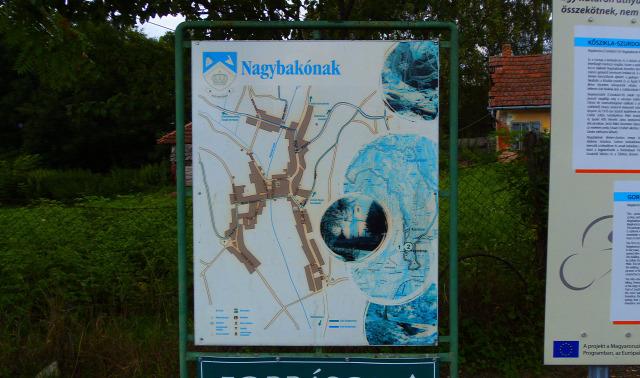 Magyarország Zala megye Nagybakónak szurdok