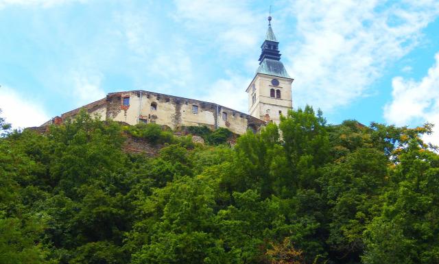 Ausztria Burgenland várak Güssing