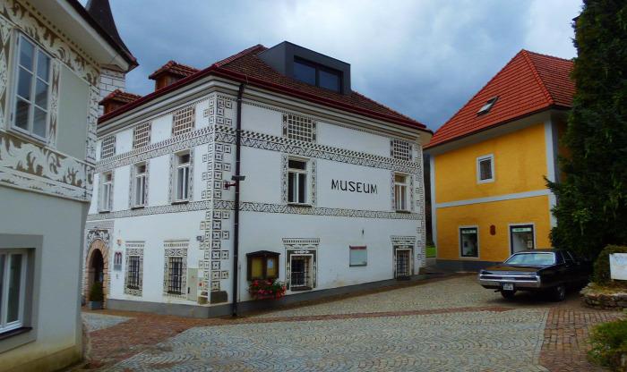 Ausztria Stájerország Város Eisenerz