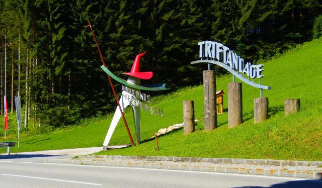 Ausztria Alsó-Ausztria szurdok Mendlingtal