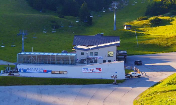 Ausztria Alsó-Ausztria libegő Hochkar