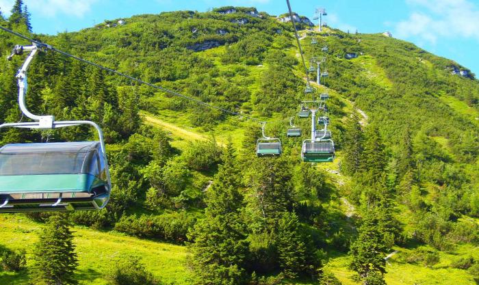 Ausztria Alsó-Ausztria hegy Hochkar