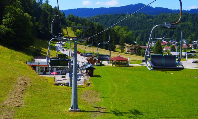 Ausztria Alsó-Ausztria Ötscher libegő hegy