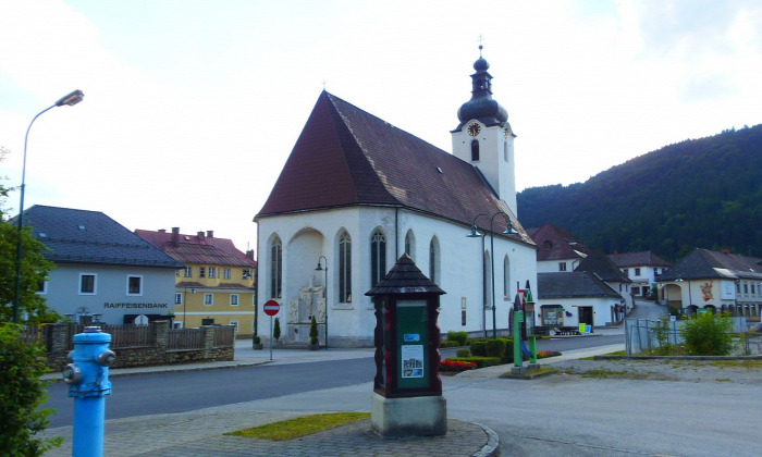 Ausztria Alsó-Ausztria város Lunz