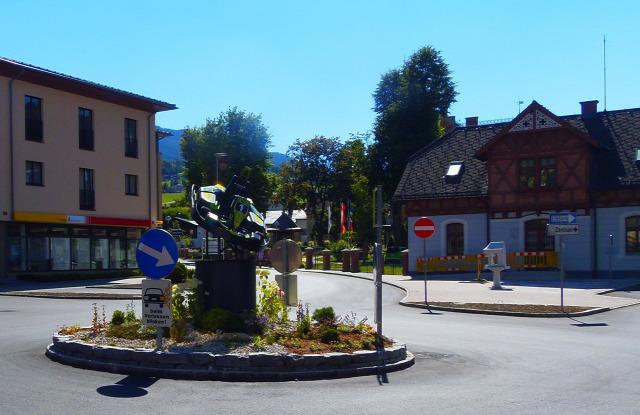 Ausztria Stájerország Schladming város