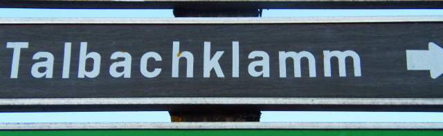 Ausztria Stájerország Schladming szurdok Talbachklamm