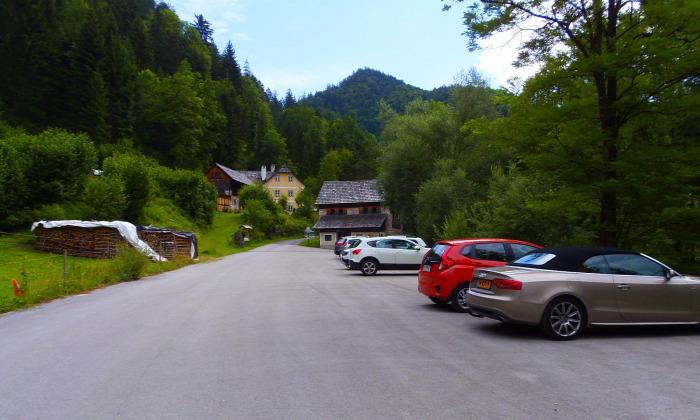 Ausztria Stájerország szurdok Nothklamm