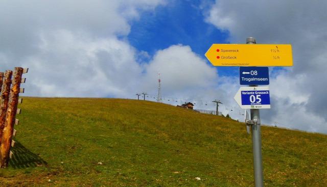 Ausztria Salzburg tartomány Mauterndorf Grosseck hegy csúcskereszt