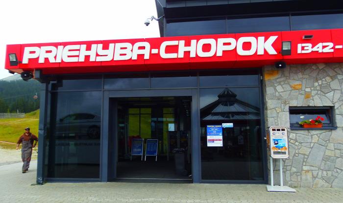 Szlovákia Jasná Chopok Tátra Alacsony-Tátra kis-kabinos felvonó