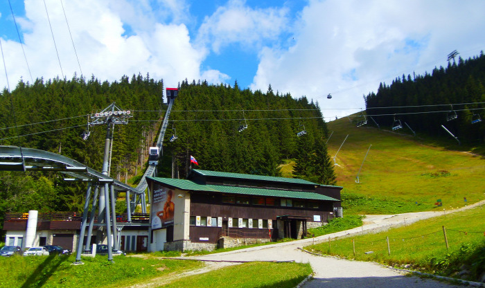 Szlovákia Chopok Jasná Tátra Alacsony-Tátra sikló