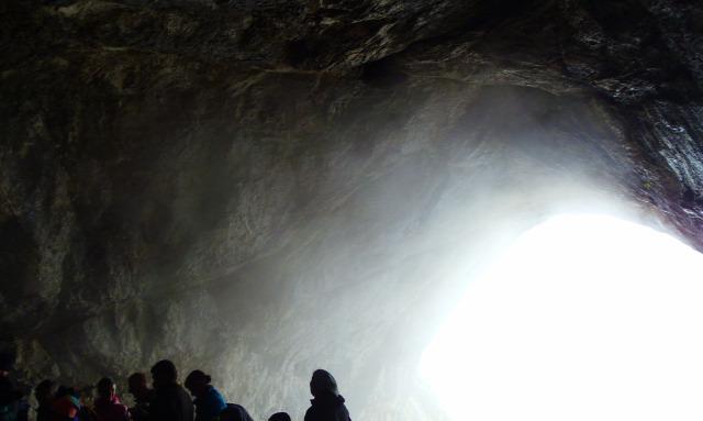 Ausztria Salzburg tartomány barlang Werfen Eisriesenwelt