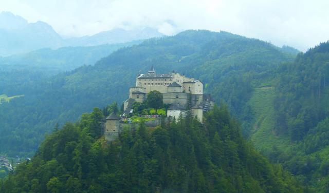 Ausztria Salzburg tartomány Werfen Eisriesenwelt túraút
