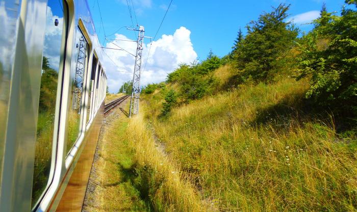 Szlovákia fogaskerekű Tátra Magas-Tátra Csorbató vonat