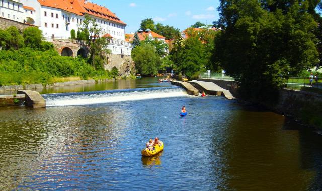 Csehország Cesky Krumlov város