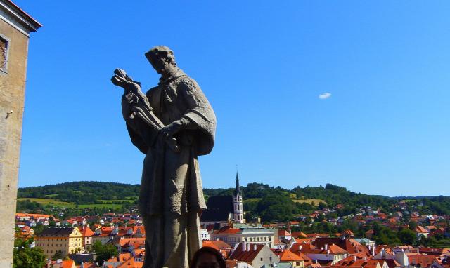 Csehország vár Cesky Krumlov