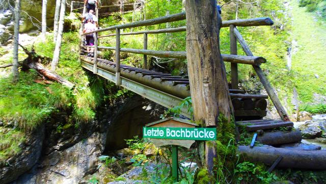 Ausztria Stájerország szurdok hegy Medveszurdok Mixnitz