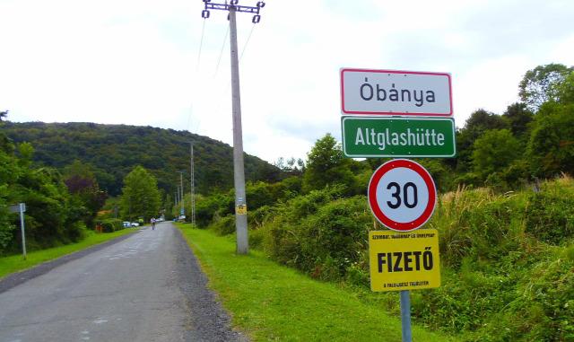 Magyarország Baranya Óbánya túraút