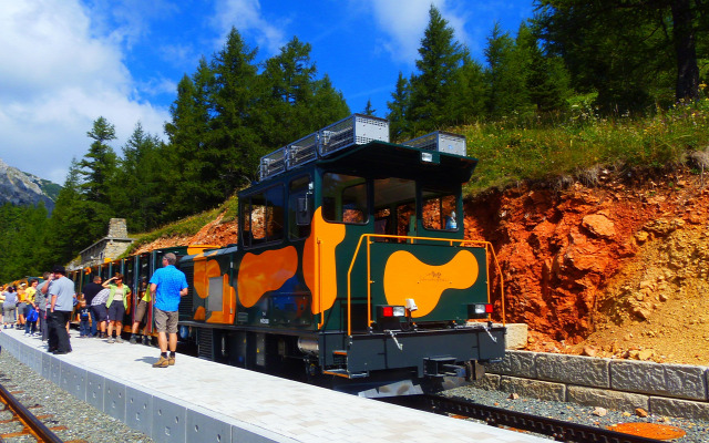 Ausztria Alsó-Ausztria fogaskerekű vasút Schneeberg Puchberg