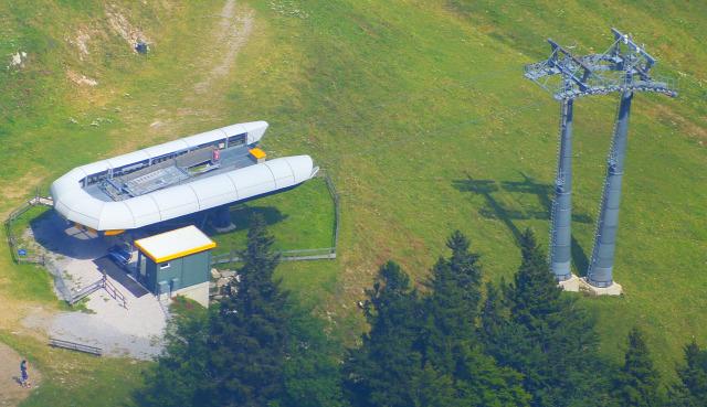 Ausztria Alsó-Ausztria Schneeberg Puchberg Losenheim libegő hegy