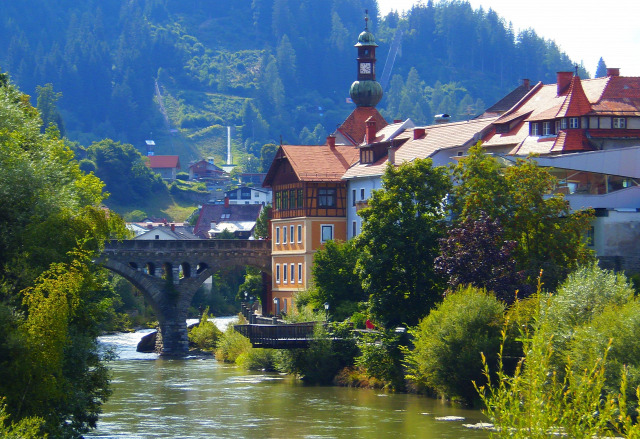 Ausztria Stájerország Murau város