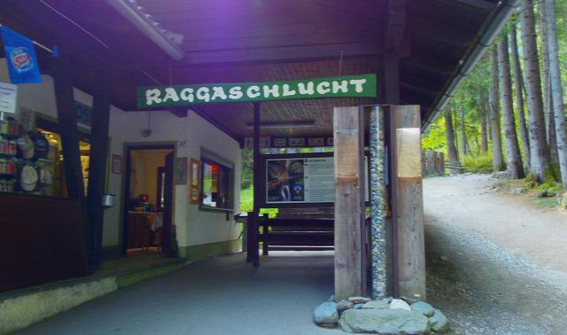 Ausztria Karintia szurdok Raggaschlucht