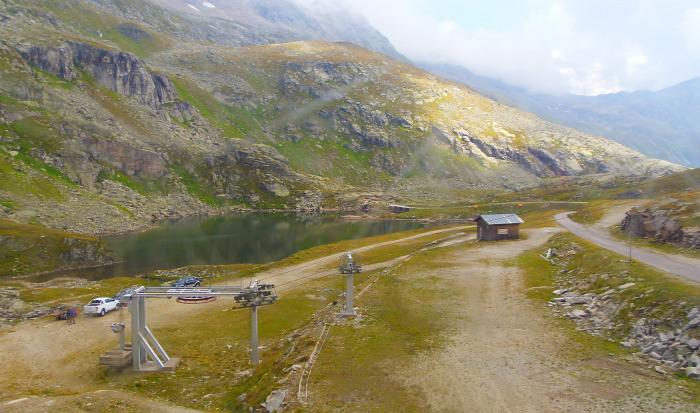 Ausztria Karintia kis-kabinos felvonó Mölltaler Gletscher