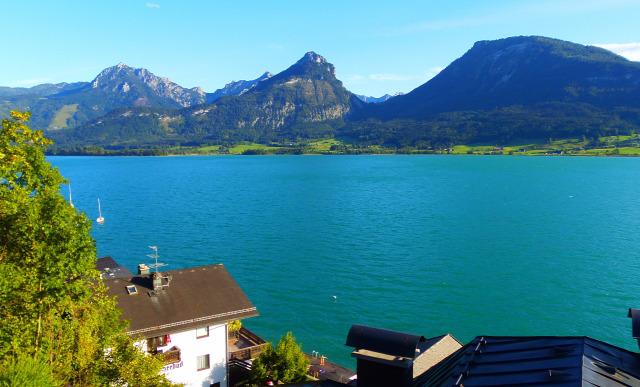 Ausztria Felső-Ausztria Salzburg tartomány város zarándokhely