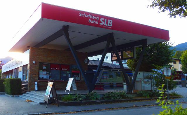 Ausztria Felső-Ausztria hegy Salzburg tartomány fogaskerekű vasút vonat Wolfgangsee St. Wolfgang Schafberg Salzkammergut