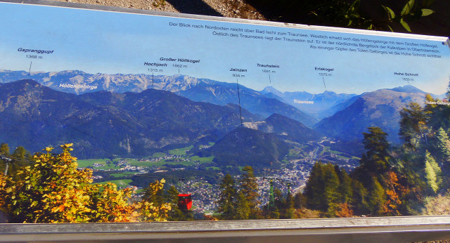 Ausztria Felső-Ausztria Bad Ischl hegy Katrinberg csúcskereszt