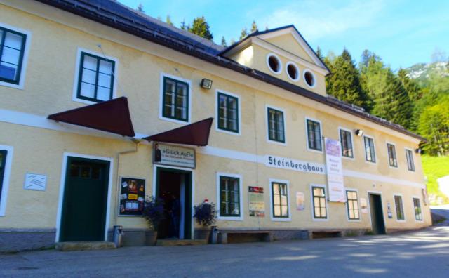 Ausztria Stájerország Salzkammergut Altaussee sóbánya